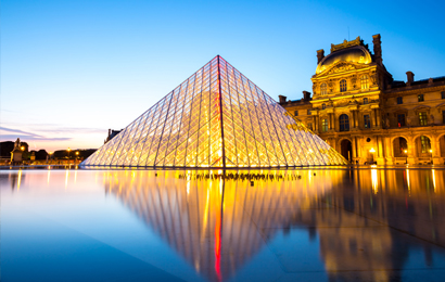 Paris: A guided tour of the Louvre museum