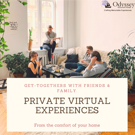 Private Interactive Virtual Experiences
