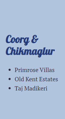 Coorg & Chikmaglur